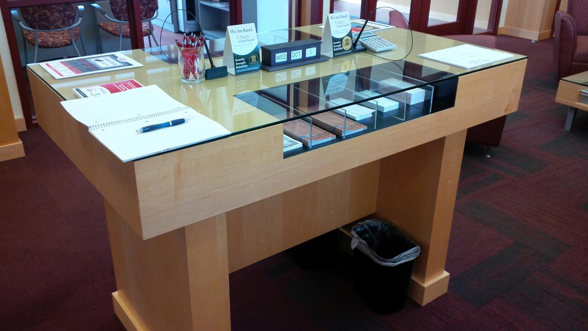 Bank Counter