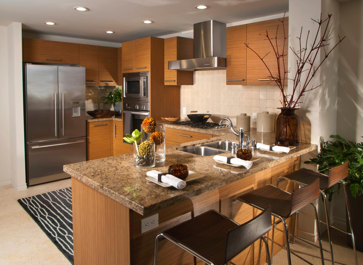 Residential Kitchen Alfatherm Chalby Clay